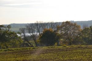 Vue à partir du sentier de la Vilaine