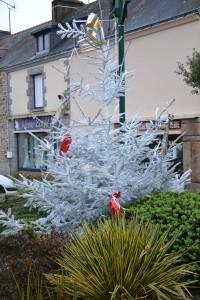 La commune d'Arzal s'est parée de ses décorations de Noël !